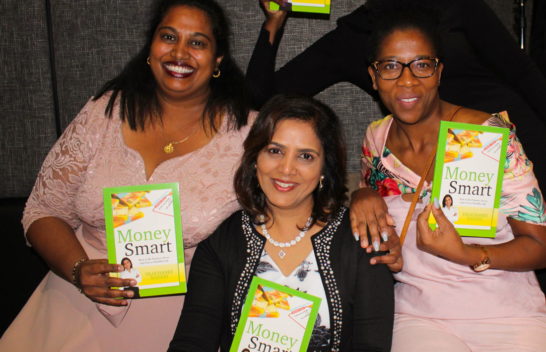 Money Smart Book by Vilochanee Naidoo Launched (JHB)