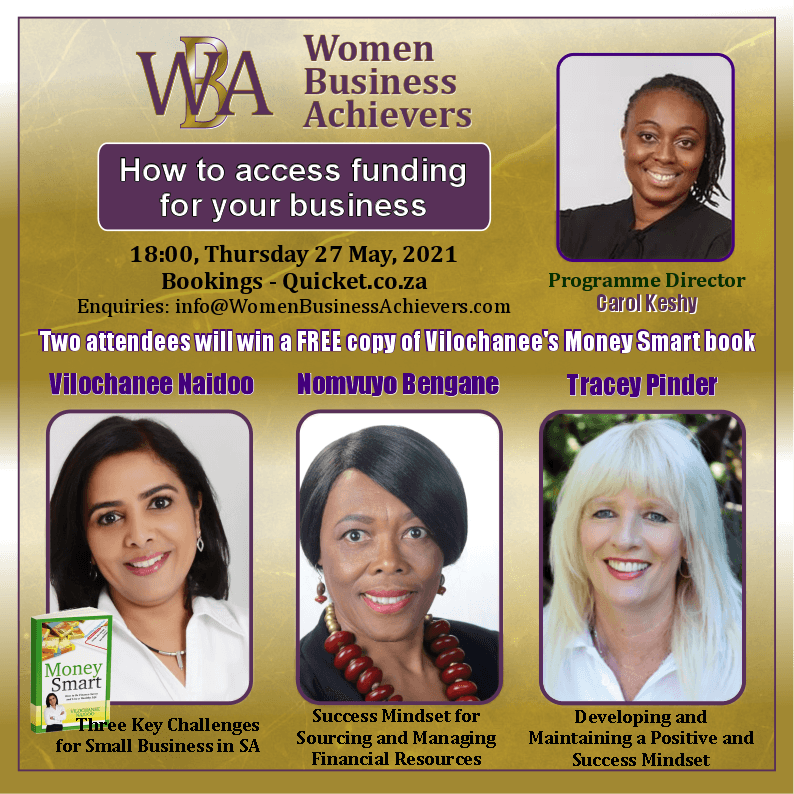 Women Business Achievers – How to Access Funding for Your Business Seminar